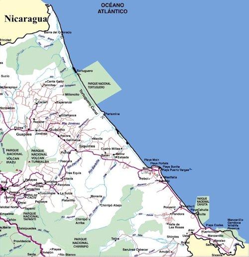 Mapas Playas del Caribe